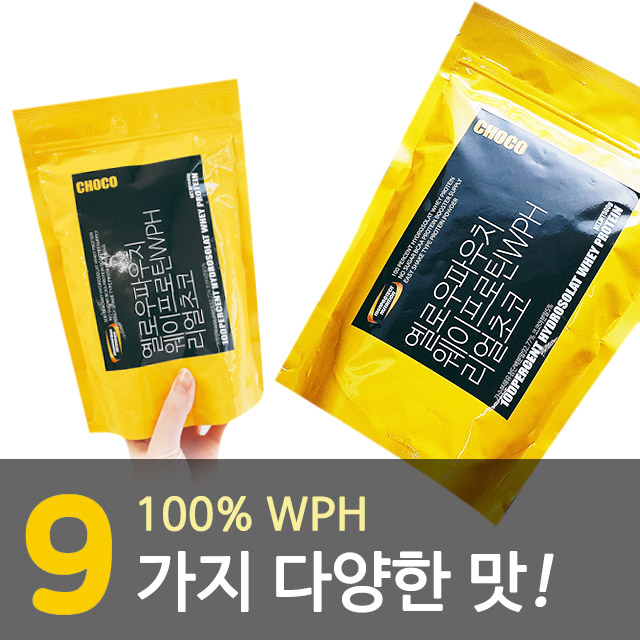 옐로우파우치 단백질보충제 500g..